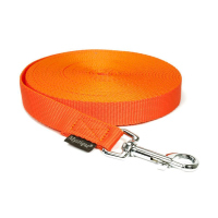 Mystique® Nylon Schleppleine 20mm neonorange 20m mit HS