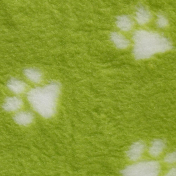 Vetbed Isobed SL -Paw- limegreen 75 x 100cm