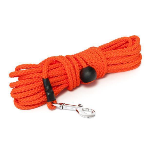 Mystique® Nylon Feldleine rund 7mm neon orange 15m