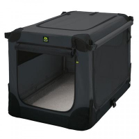 Maelson Soft Kennel faltbare Hundebox -anthrazit-