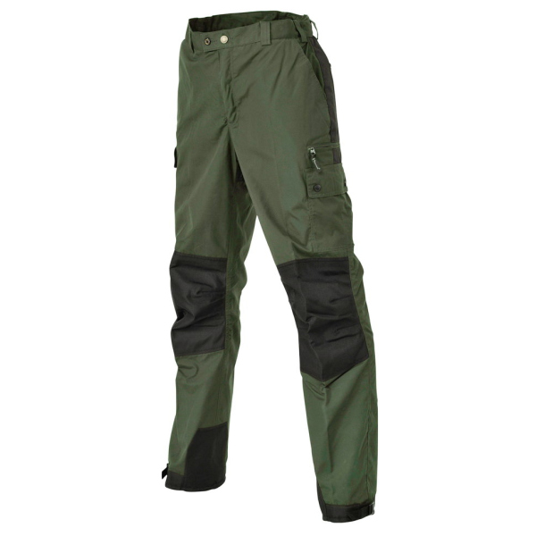 Pinewood 9985 Outdoorhose Lappland Kids Midgreen/Schwarz (138) 176
