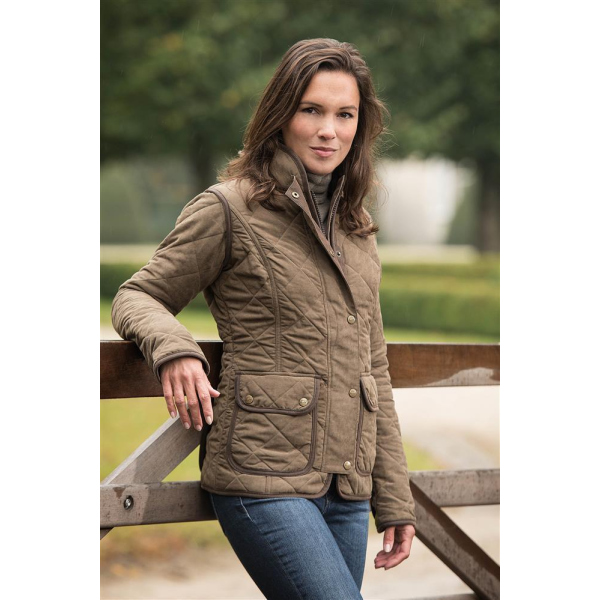 Baleno Steppjacke Hepburn Damen Light Khaki XS
