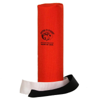 Dummy Launcher Canvas long mit Streamer 25 cm orange