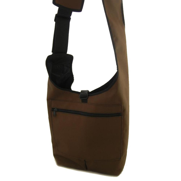 Bracco Dummytasche Light Shoulder Polyamid braun