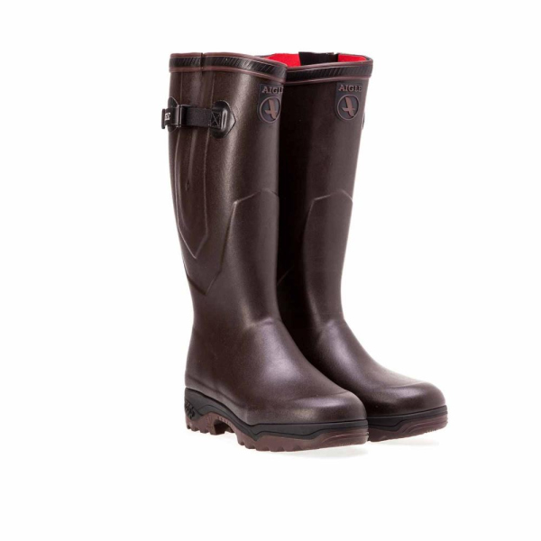 Aigle Gummistiefel Parcours 2 Iso braun 44