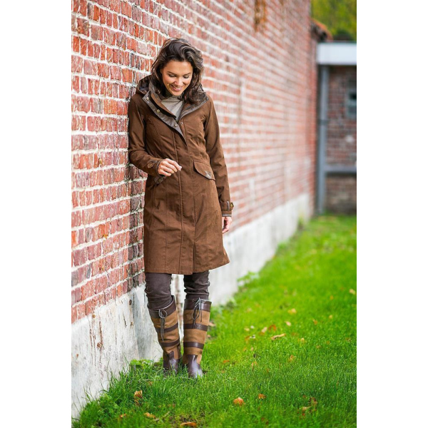 Baleno Mantel Chelsea Damen Chocolate S