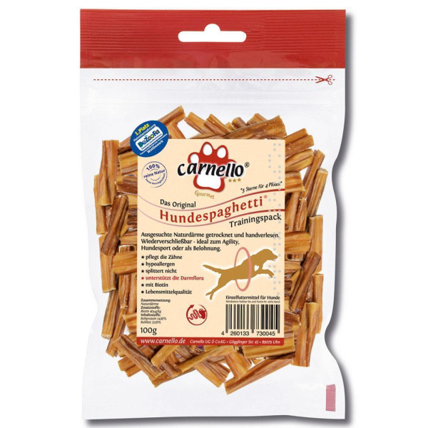 Carnello Hundespaghetti Training 100g 2er Pack (2 x 100g)