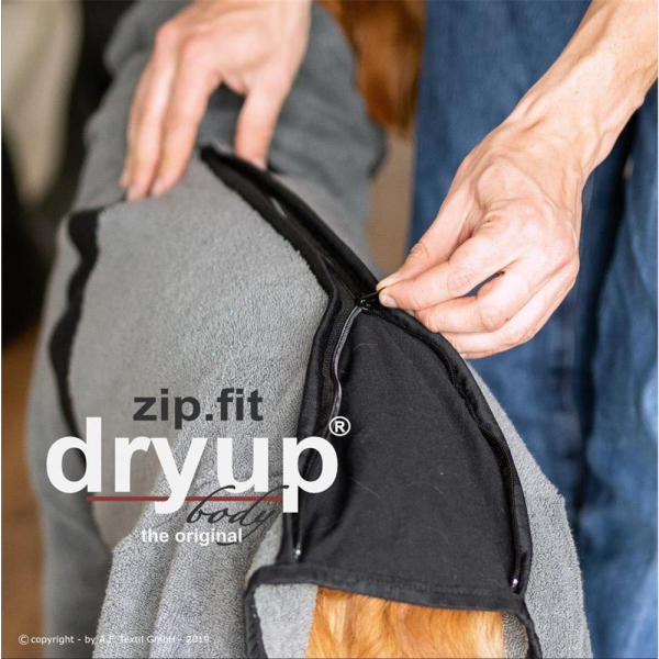 Dryup Body Zip Fit grau XS (48cm)