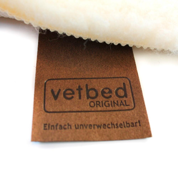 Vetbed British Wool Blend SL nature 75 x 100cm