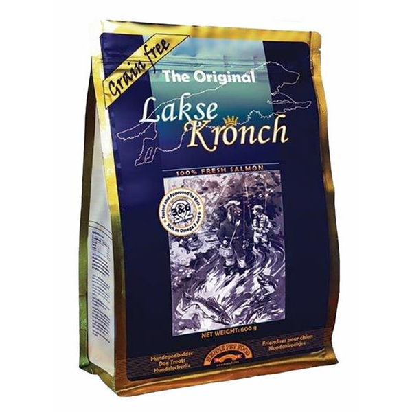 Henne Pet Food - Lakse Kronch Das Original 600g