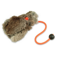 Mystique Dummy Ball mit Fell full fur 165g